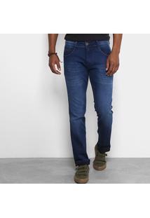 Calça Jeans Slim Biotipo Soft Masculina - Masculino-Jeans