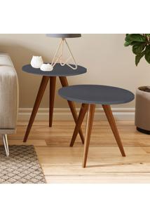 Mesa De Canto 500 Retrô – Be Mobiliário - Espresso