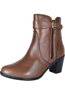 Bota Eagle Black Cano Curto Café