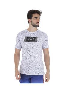 Camiseta Fatal Especial 22367 - Masculina - Branco