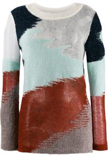 Missoni Abstract Knitted Jumper - Azul