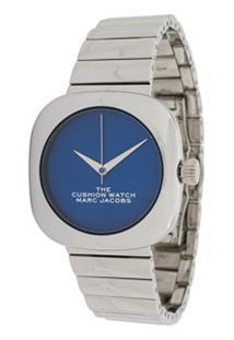 Marc Jacobs Watches Relógio The Cushion - Prateado