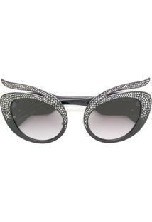 ab1fb5622 Óculos De Sol Cinza Swarovski feminino | Gostei e agora?