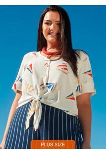 Camisa Tecido Rayon Bali Branco
