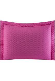 Porta Travesseiros Microfibra - Pink Familie Enxovais