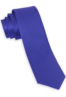 Gravata De Seda Azul Royal