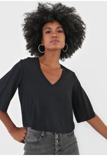 Camiseta Triton Lisa Preta