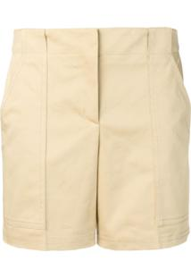 Ermanno Scervino High Rise Shorts - Neutro