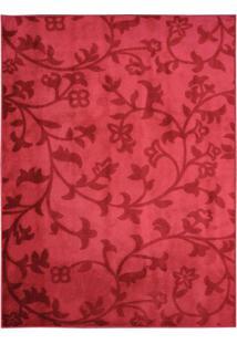 Tapete Sutil- Vermelho & Vermelho Escuro- 300X250Cm