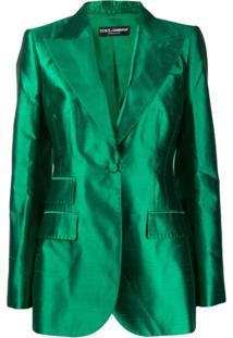 Dolce & Gabbana Blazer Balmaccan - Verde