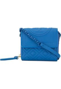 Tory Burch Carteira Fleming Mini - Azul
