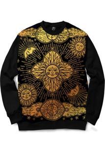 Blusa Bsc Mistic Sun Full Print - Masculino