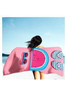Toalha De Praia / Banho Beach Sunny Único