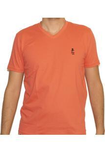 Camiseta Sir.W Basica Salmao