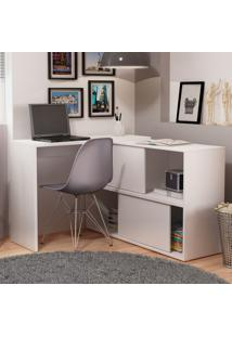 Mesa Para Computador Bc 44-06 Branco - Brv Móveis