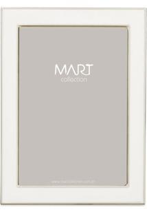 Porta Retrato- Branco- Tamanho Da Foto: 10X15Cm-Mart