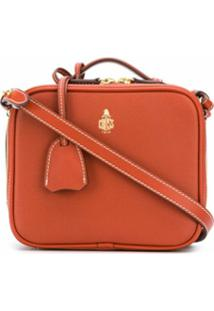 Mark Cross Bolsa Transversal Madison Mini - Laranja