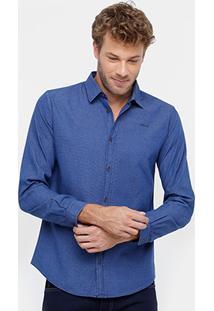 Camisa Colcci Listras Sútis Masculina - Masculino