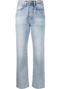 Acne Studios Calça Jeans Reta - Azul
