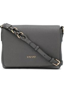 Liu Jo Foldover Top Satchel Bag - Cinza