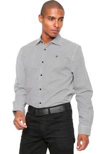 Camisa Forum Smart Branca/Preta