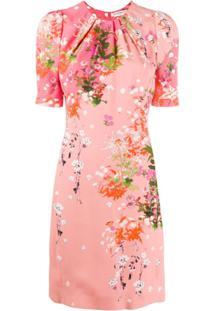 Givenchy Floral Short Dress - Rosa