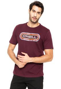 Camiseta O'Neill Boogie Vinho