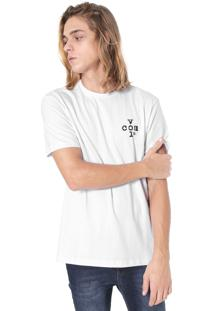Camiseta Volcom Silk Cross Branca