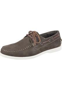 Docksider Casual Moderno Shoes Grand Confortável Militar