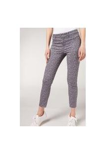 Calça Jeans Push Up - Estampado M