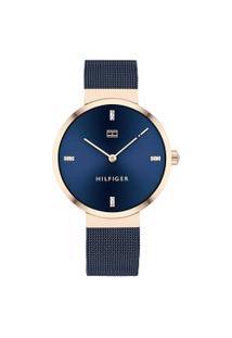 Relógio Tommy Hilfiger Feminino Aço Azul - 1782219
