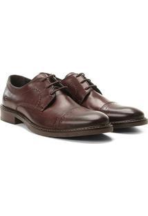 Sapato Casual Democrata Metropolitan Masculino - Masculino-Café