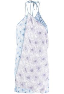 Jacquemus Vestido La Robe Boca - Azul