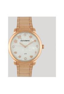 Relógio Analógico Mondaine Feminino - 53685Lpmkre2 Rosê