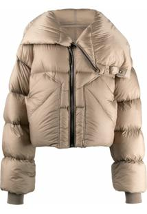 Rick Owens Mountain Duvet Oversized Puffer Jacket - Neutro