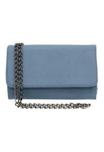 Bolsa Sandiee Clutch Pequena Azul Bebe