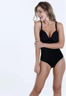 Body Modelador Multifuncional Marisa Feminino - Feminino-Preto