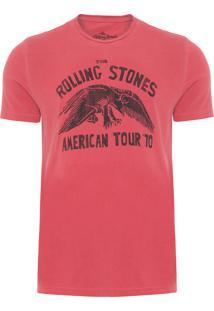 Camiseta Masculina Vintage American Tour 78 - Vermelho
