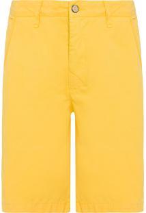Bermuda Masculina Casual Iron - Amarelo