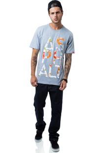 Camiseta Asphalt Syllable - Masculino