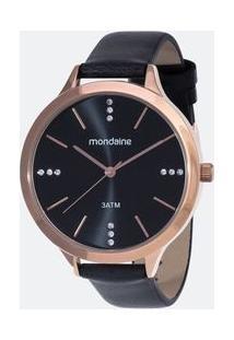 7054fd32bc4 Relógio Analógico Mondaine feminino