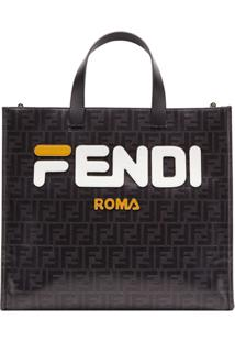 Fendi Bolsa Tote Fendimania Shopping S - Preto