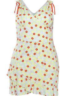Vestido Curto Almaria Plus Size Plump Estampado Ve