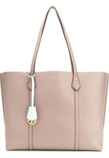 Tory Burch Perry Triple-Compartment Tote - Cinza