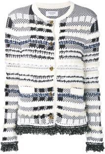 Thom Browne Jaqueta De Tweed - Azul