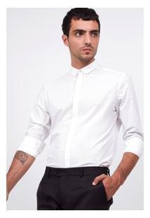 Camisa Slim Em Tricoline