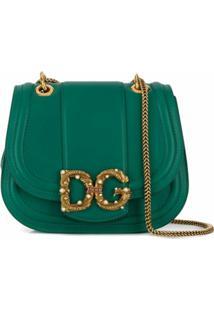 Dolce & Gabbana Bolsa Tiracolo Dg Amore - Verde