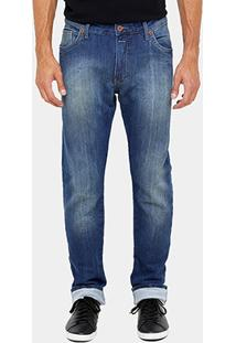 Calça Jeans Skinny Forum Paul Indigo Bord Masculina - Masculino