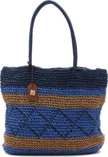 Bolsa Cantão Tressê Azul
