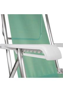 Cadeira Reclinável Alumínio 8 Posições Anis Mor